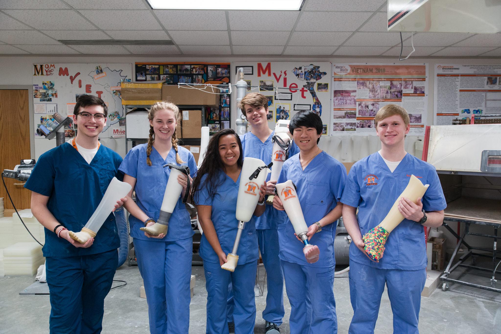 Mercer Prosthetics and Orthotics Club