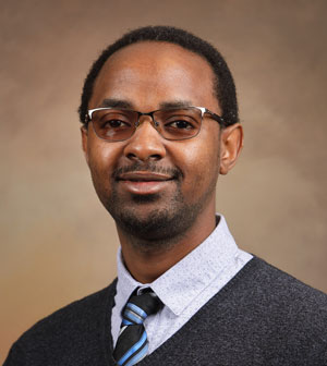 Engineering Professor Dr. Emmanual Kidando