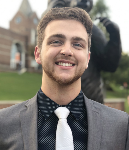 Electrical Engineering Major Scotty Munsey