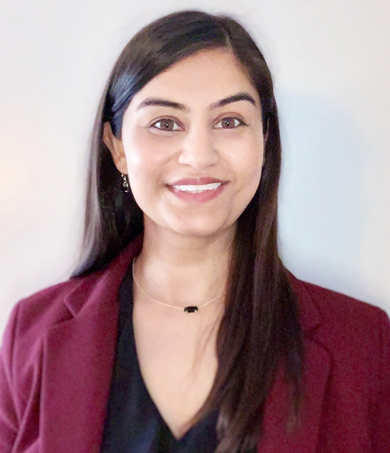 MSTCM Graduate Shamreen Pradhan